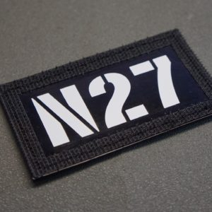 NON IR/GTD callsign/patches/flag